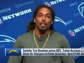 Tre Boston on Chiefs: Teams have found out ways to slow their offense down