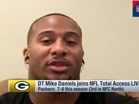 Watch: Mike Daniels: We have to hit Cam Newton 'early and often'