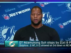 Watch: Ndamukong Suh reacts to a big win over the Patriots