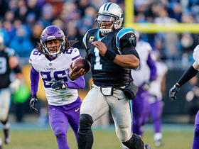 Watch: Cam speeds past Vikings | 'NFL Turning Point'