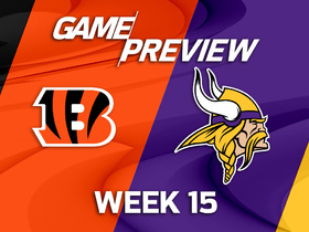 Watch: Bengals vs. Vikings preview | 'NFL Playbook'