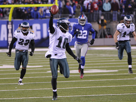 Watch: TBT: Eagles' miracle wins vs. Giants