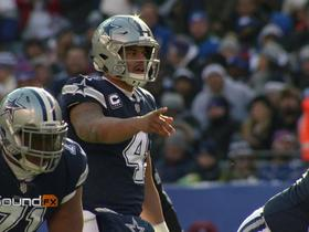 Watch: 'Sound FX': Dak Prescott balls out in divisional matchup vs. Giants