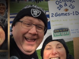 Watch: 'NFL Films Presents': A couple attends two NFL games in one day