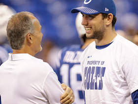 Watch: Ian Rapoport: Andrew Luck does not need second surgery