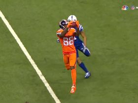 Watch: Demaryius Thomas makes impressive toe-tap catch for 22 yards