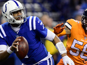 Brissett can't connect with Rogers, Broncos take over in final minutes