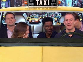 Watch: Good Morning Football crew plays 'Cash Cab' with Ben Bailey