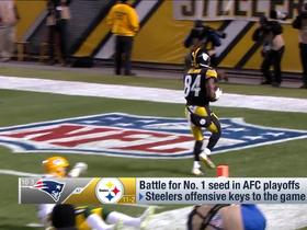 Watch: Keys to a Patriots win over the Steelers