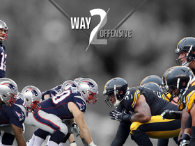 Watch: Way 2 Offensive: Comparing Brady's Pats and Big Ben's Steelers