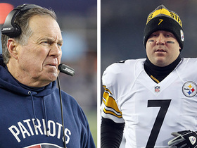 Watch: Belichick on Big Ben: It's not like he's throwing to 'just one guy'