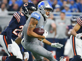 Watch: Marvin Jones makes sharp cut, charges across middle for first down