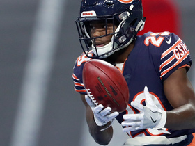 Tarik Cohen only needs one hand to make quick nitfy catch