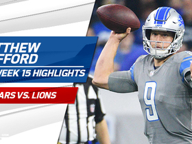 Watch: Matthew Stafford highlights | Week 15