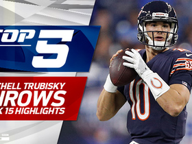 Watch: Top 5 Mitchell Trubisky throws | Week 15
