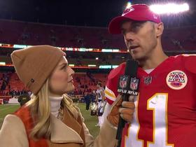 Watch: Alex Smith: We're trying to punch our ticket to the dance