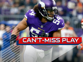 Watch: Can't-Miss Play: Eric Kendricks takes first INT of year to the house