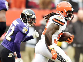 Watch: Crowell shoots out of own end zone for 59-yard surge