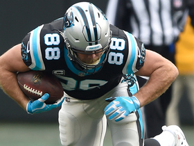 Greg Olsen reaches out and snags one-handed catch