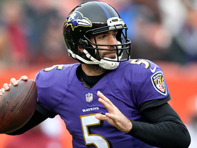 Flacco drops it in the bucket to Wallace for a 30-yard hookup