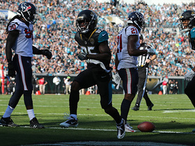 Watch: Jaydon Mickens stumbles into end zone for his 2nd TD