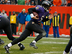 Watch: Joe Flacco puts the Ravens back on top with the 2-yard keeper