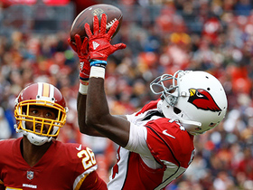 J.J. Nelson burns Bashaud Breeland for 46-yard catch
