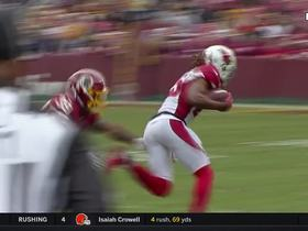 Watch: Bethea punches ball out of Davis' hands, Cardinals recover