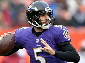 Joe Flacco finds a wide open Ben Watson for a 33-yard TD
