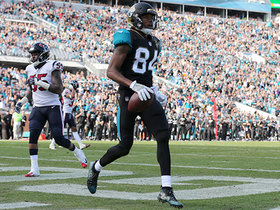 Watch: Keelan Cole sprints into the end zone, scores 9-yard TD in stride