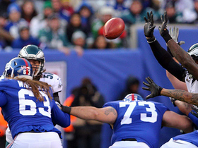Malcolm Jenkins comes up big, blocks Giants' go-ahead FG