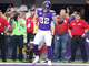 Watch: Case Keenum finds Kyle Rudolph wide open in the end zone