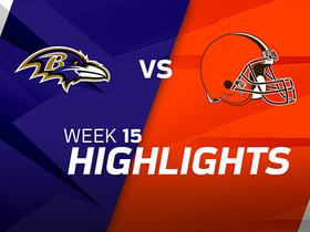 Ravens vs. Browns highlights | Week 15