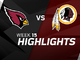 Watch: Cardinals vs. Redskins highlights | Week 15
