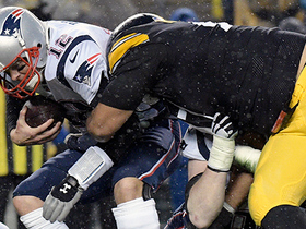 Cameron Heyward ambushes Tom Brady for sack