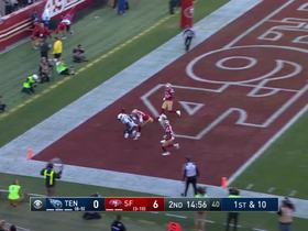 Walker drops pinpoint, would-be TD pass by Mariota