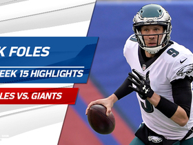 Best plays from Nick Foles' first start of 2017   Week 15