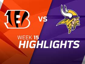 Bengals vs. Vikings highlights | Week 15
