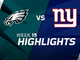 Watch: Eagles vs. Giants highlights | Week 15