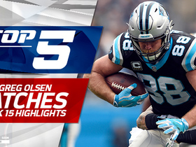 Top 5 Greg Olsen catches | Week 15