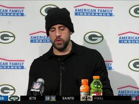 Watch: Rodgers: 'I was disappointed in my performance today'
