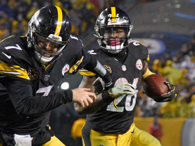 Watch: Le'Veon Bell cuts through defenders for 3-yard TD
