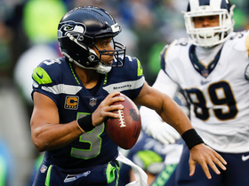 Watch: Russell Wilson scrambles for first down and more