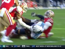 Watch: Solomon Thomas storms into backfield for big tackle on Derrick Henry