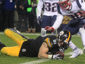 Jesse James' go-ahead TD overturned, ruled incomplete pass