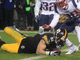 Watch: Jesse James' go-ahead TD overturned, ruled incomplete pass