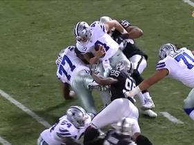 Khalil Mack overpowers Tyron Smith, sacks Dak Prescott
