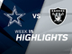 Watch: Cowboys vs. Raiders highlights | Week 15