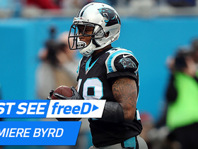 Watch: freeD: Damiere Byrd rises up and pulls down a controversial TD from Cam Newton | Week 15