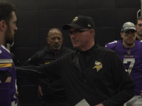 Watch: Vikings head coach Mike Zimmer's playoff clinching victory speech